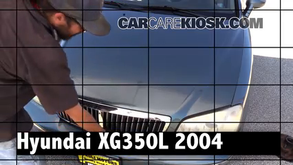 2004 Hyundai XG350 L 3.5L V6 Review